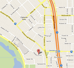 Location of Ceiling Force Office, 80 Walters Drive, Osborne Park, WA 6017